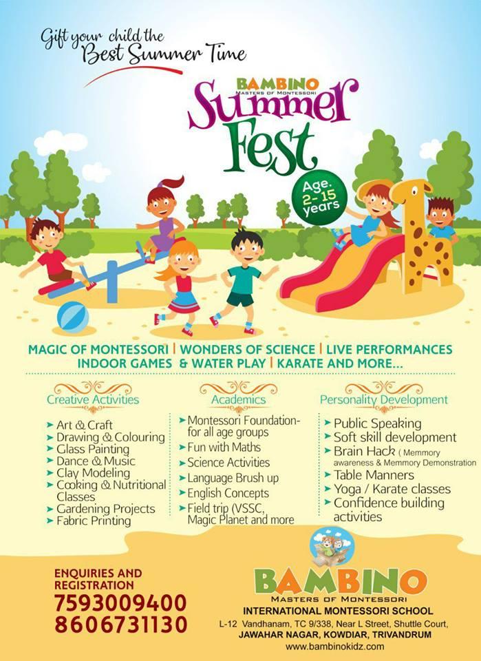 Summer Camps Schoolkutti Com